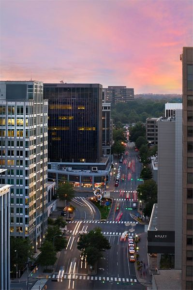 Rosslyn, Virginia skyline